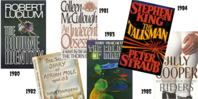 Best selling books of the 1980s